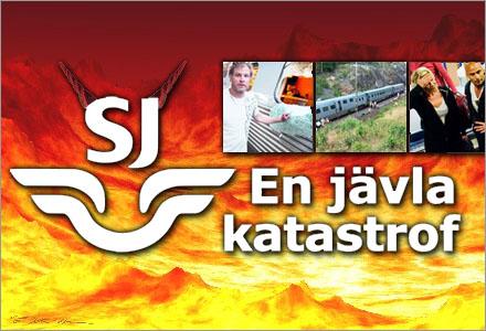 """SJ står egentligen för """"Satans Järnvägar""""."""